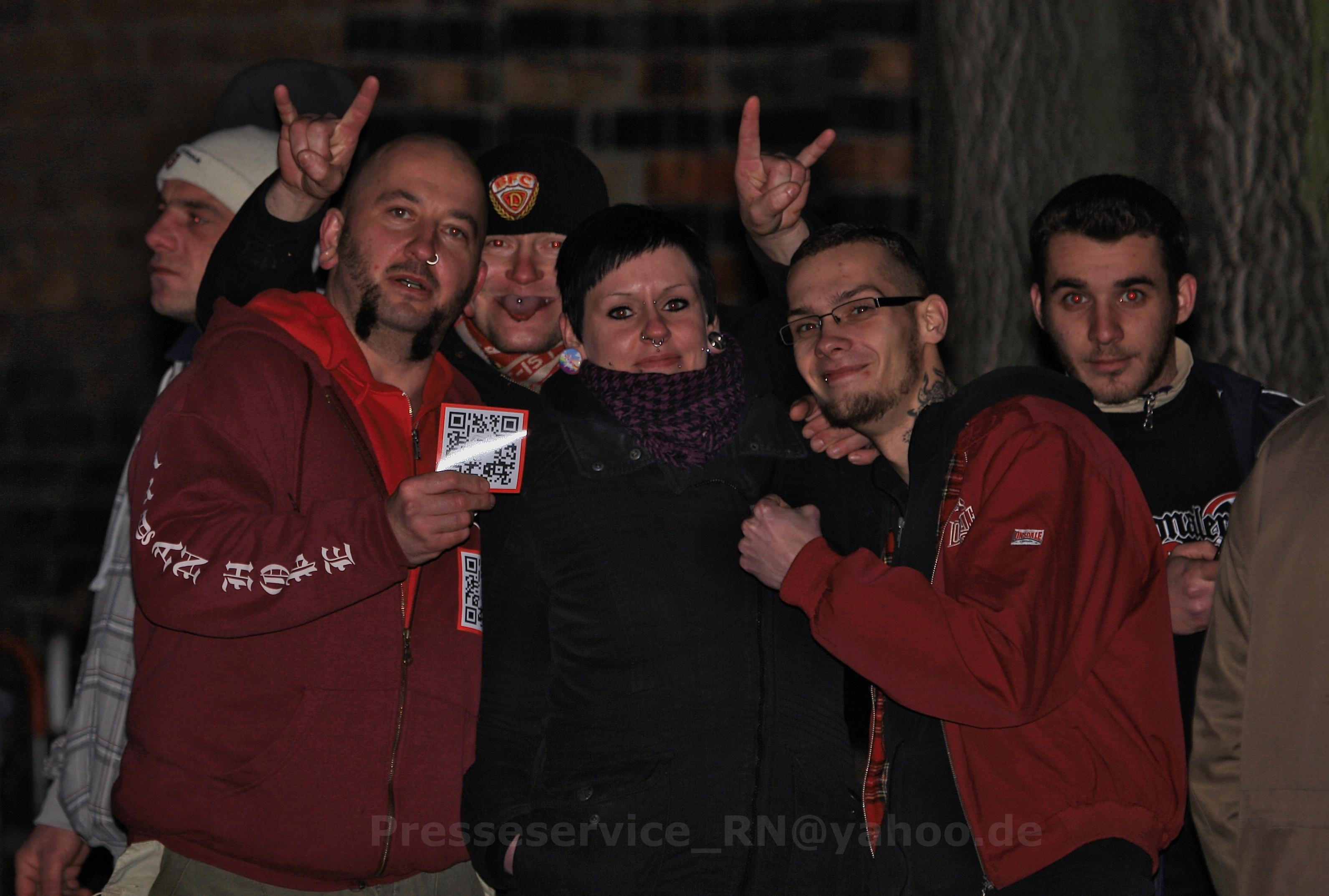 Sascha L. und weitere Neonazis aus Brandenburg an der Havel |Quelle: Presseservice Rathenow